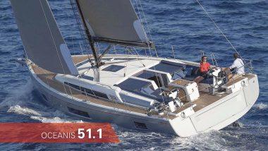 Barca a Vela Oceanis 51.1 in navigazione
