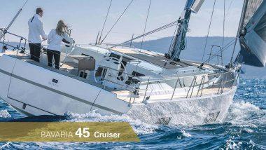 Bavaria 45 Cruiser in navigazione di bolina