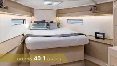 Cabina di Prua Oceanis 40.1