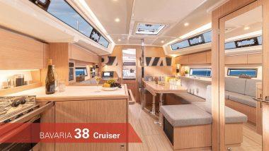 Interni Barca a Vela Bavaria 38 Cruiser