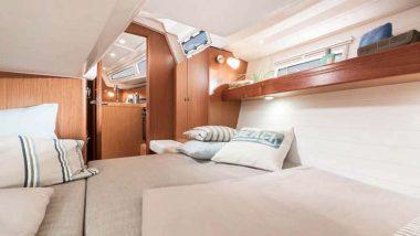 Interno Camera da Letto Barca a Vela