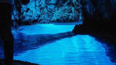 Isola di Bisevo la Grotta Azzurra Baia Balum