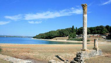 Isole Brioni reperti archeologici tempio Venere
