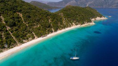 Itaca visione delle tante spiagge dell'Isola