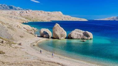 Pag spiaggia Beritnica Metajna