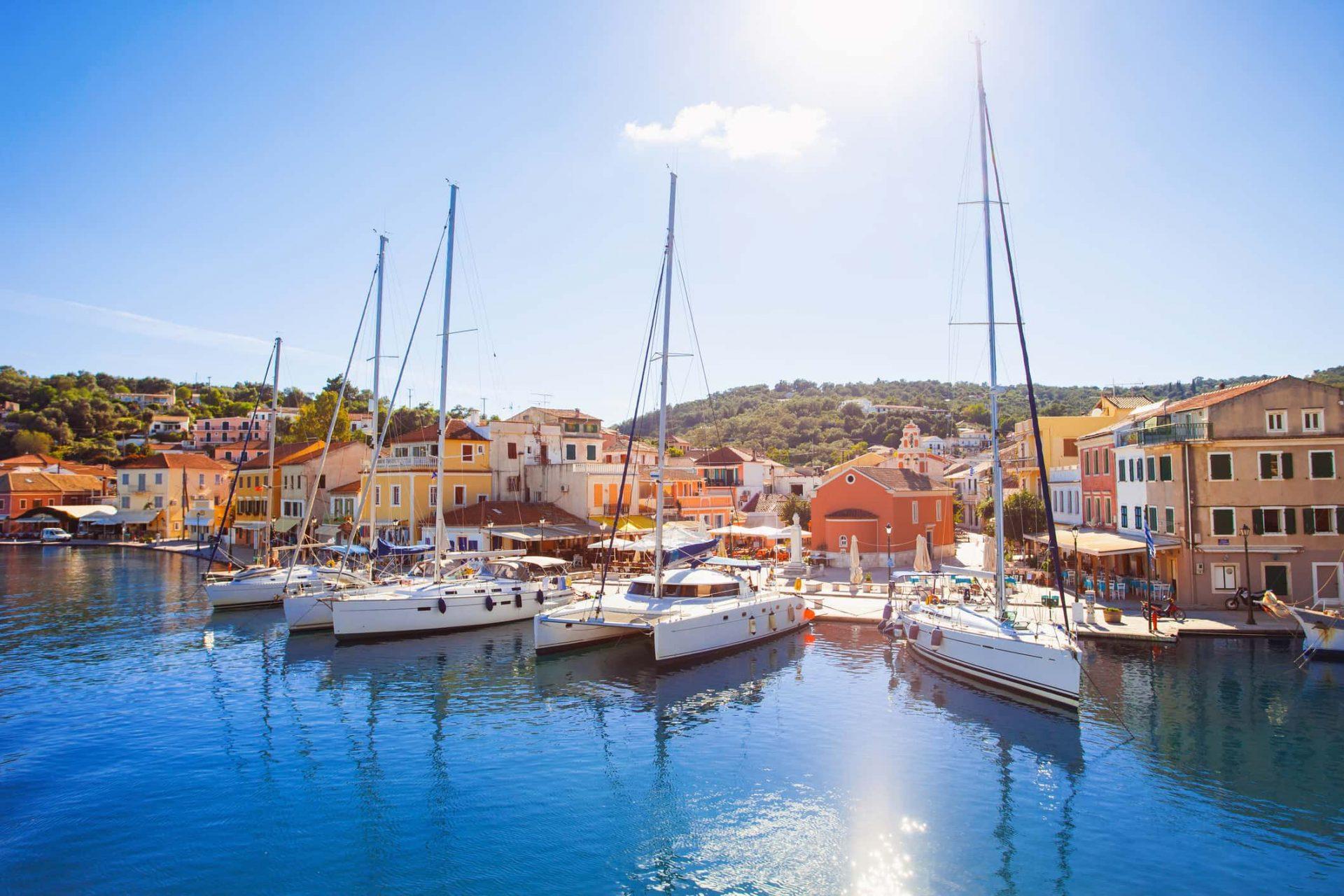 Paxos Corfu porto Gaios