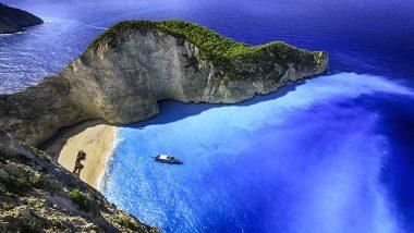Scorcio Baia Isole Ioniche Grecia