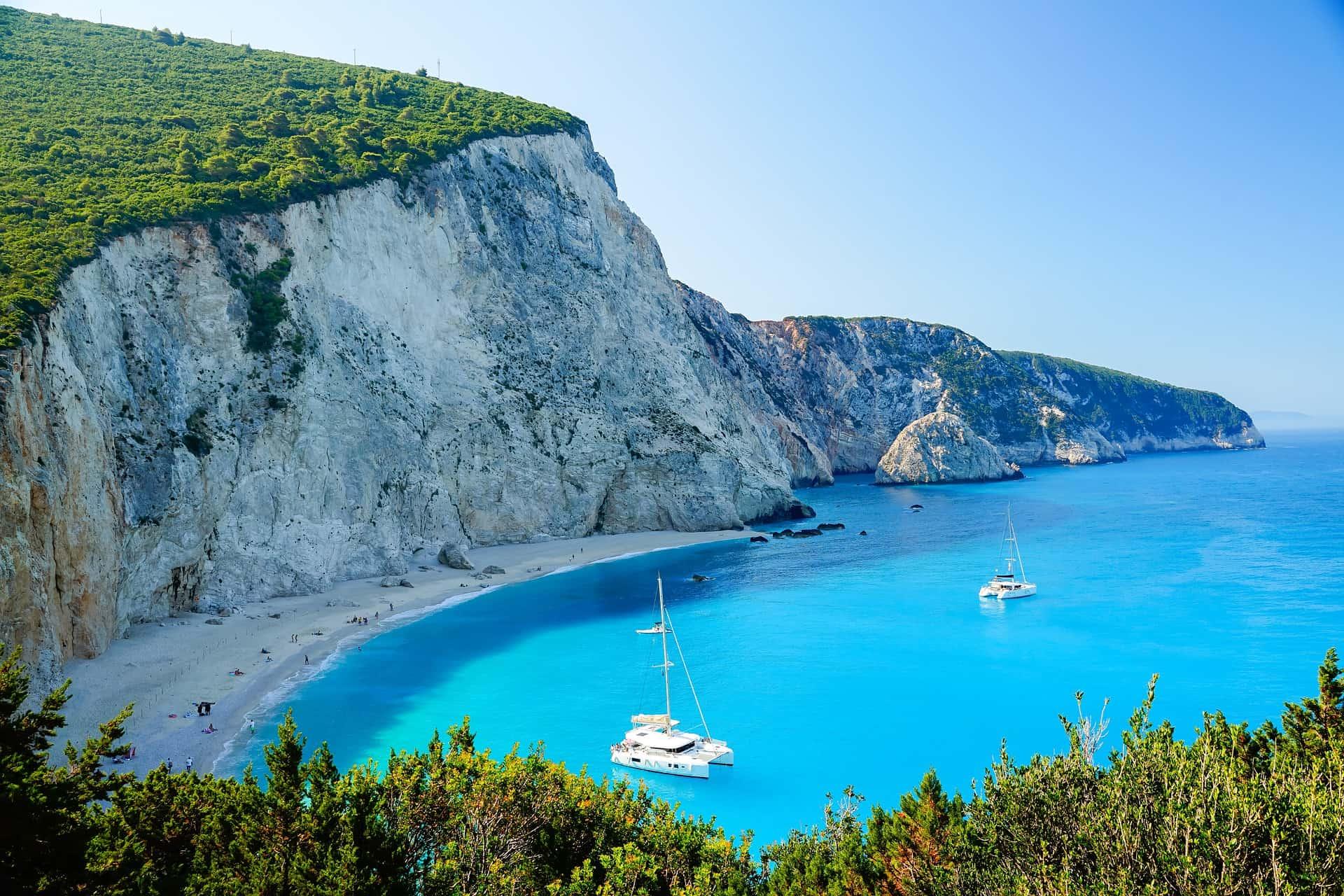 Spiaggia di Katsiki Isola di Lefkada
