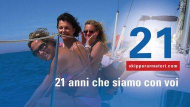 Vacanze in Barca a Vela Skipper Armatori da 21 Anni