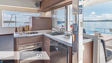 Cucina Catamarano Lagoon 40