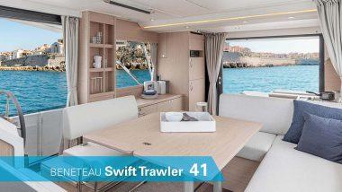 Interni Benetau Swift Trawler 41