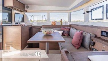 Interni Catamarano Lagoon 40