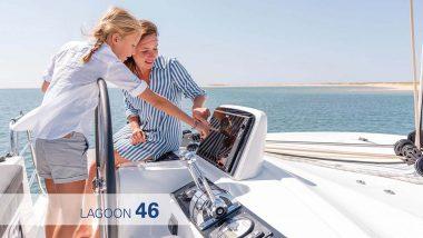Strumenti di navigazione Lagoon 46
