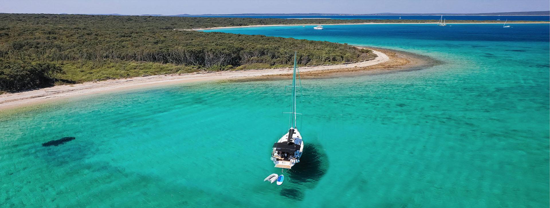 Vista di Una delle Isole dell'Istria-copertina